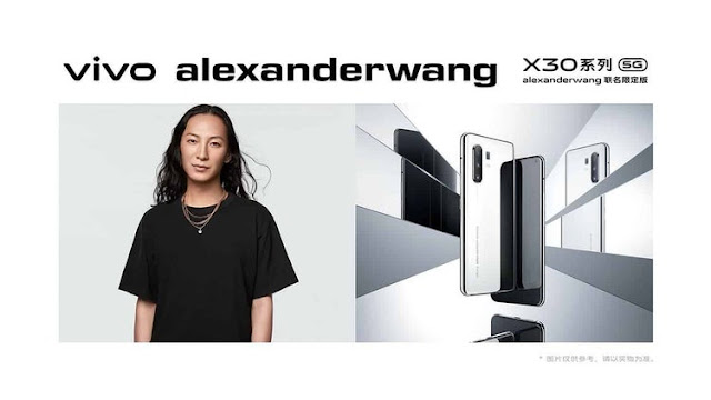 vivo X30 gets a Mirror Edition in collaboration with Alexander Wang.