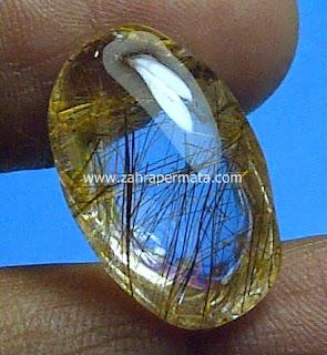Batu Permata Rutile Quartz - ZP 462