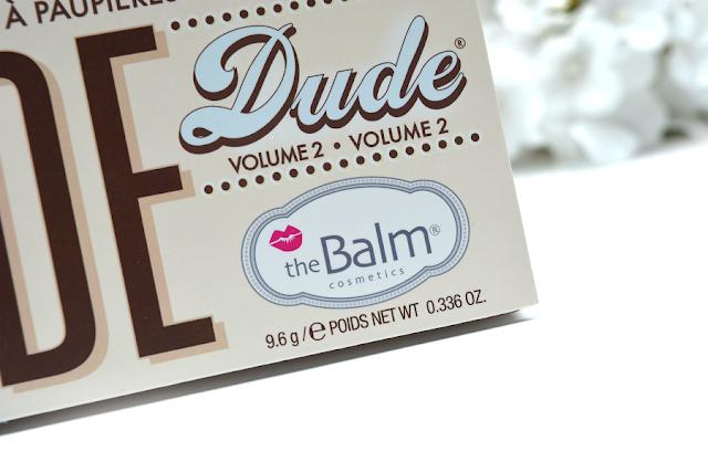 The Balm Nude Dude Volume 2 Lidschattenpalette | Ausschnitt