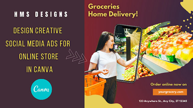 Design Creative Social Media Ads for Online Stores in Canva