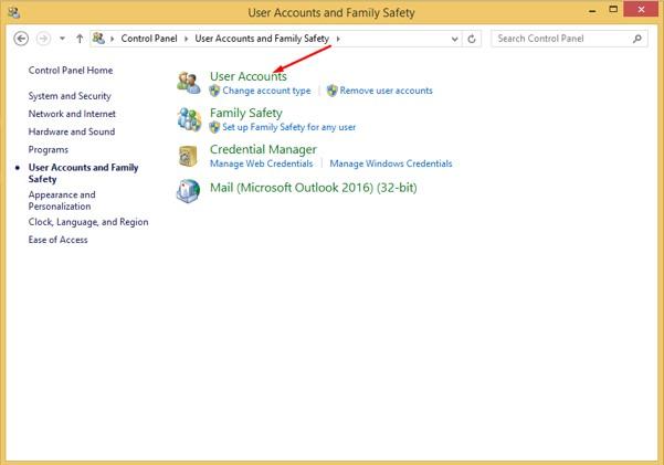 Cara Mengganti Nama User Account di Windows 8.1
