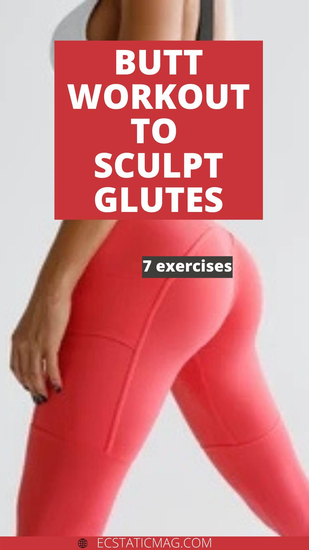 Butt Workout to sculpt Glutes