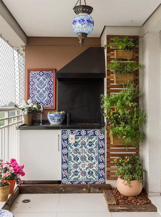 varanda, horta vertical, jardim vertical, faça você mesmo, diy, do it yourself, decor, decoração, home design, a casa eh sua