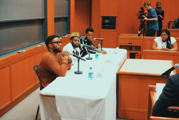 Patoranking-Maleek Berry-Julus Speaks At Harvard Business School