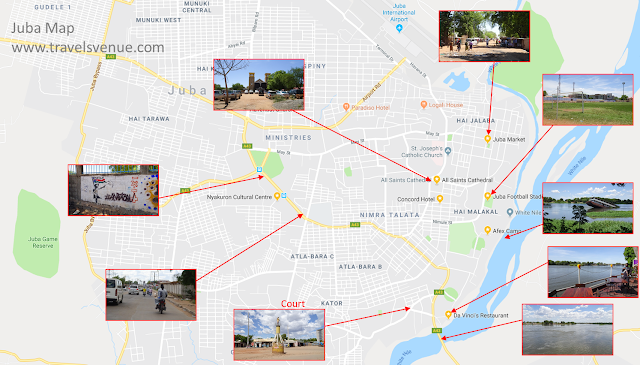 Tourist attractions in Juba