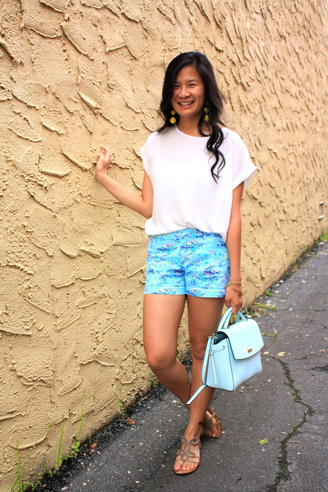 Lilly Pulitzer inspired Old Navy shorts