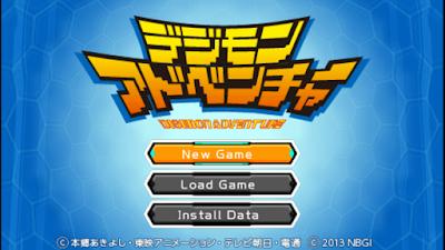 تحميل لعبة Digimon Adventure لأجهزة psp ومحاكي ppsspp