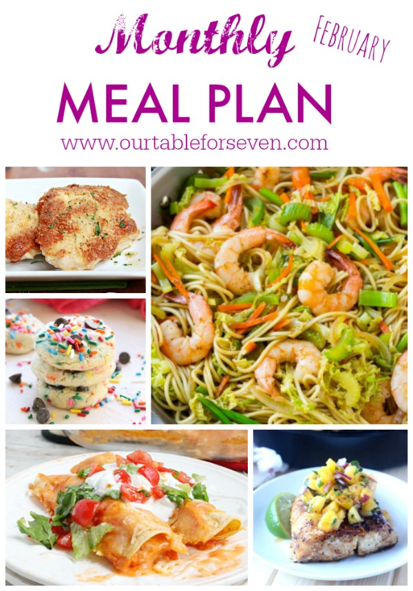 February Meal Plan!