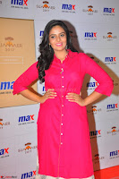 Sree Mukhi in Pink Kurti looks beautiful at Meet and Greet Session at Max Store (64).JPG
