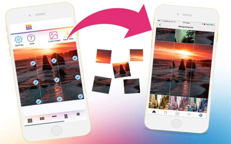 Cara Membuat Foto Instagram Grid