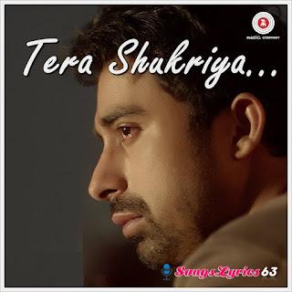 Tera Shukriya Song Lyrics 3 AM [2014]