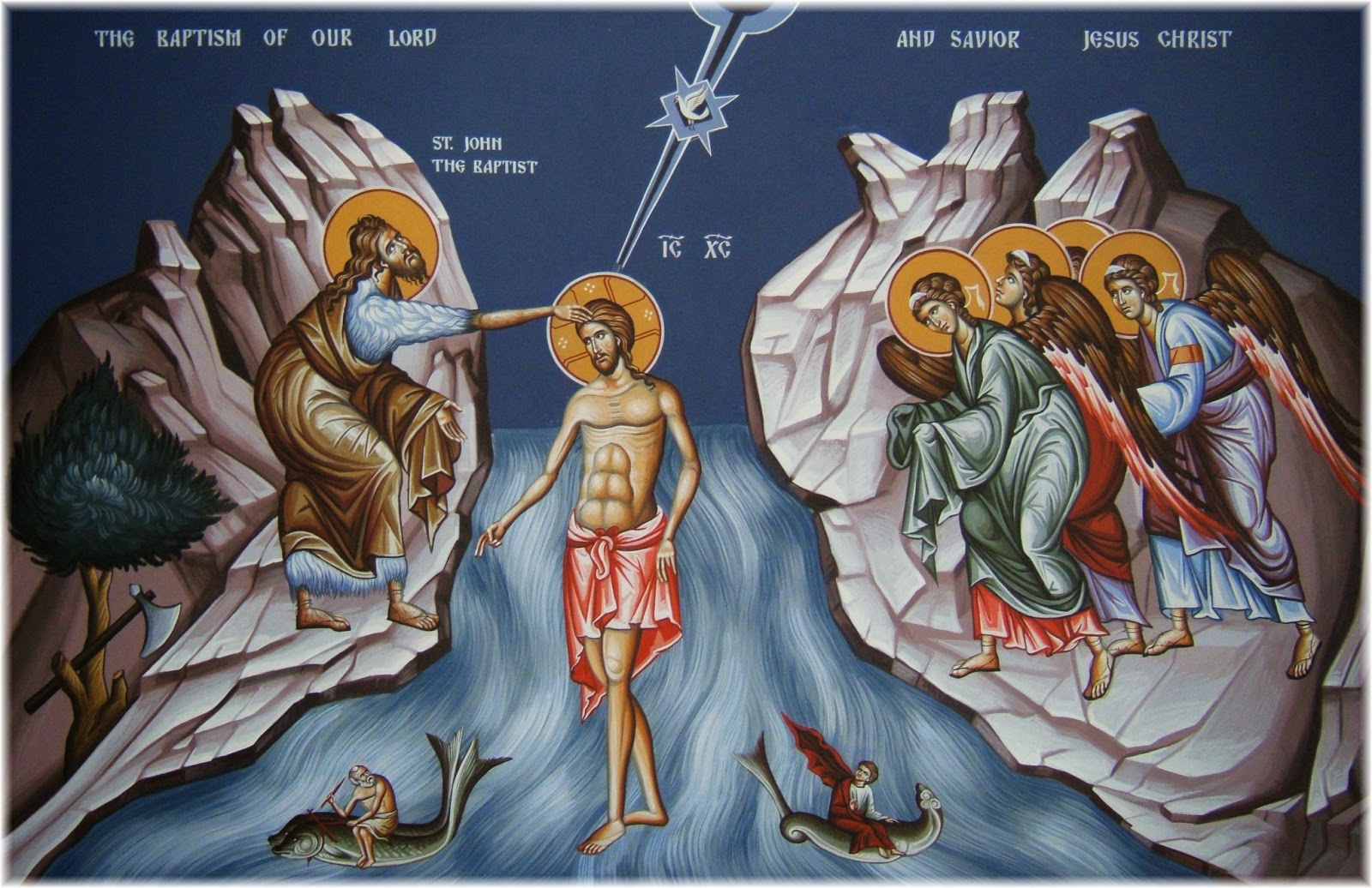Theophany - The Blessing of the Waters by God