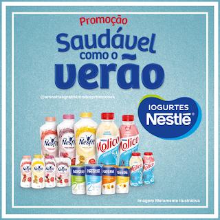 Promoção Saudável como O Verão Iogurtes Nestlé