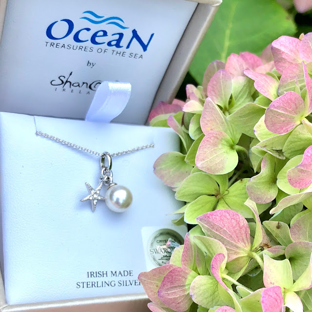 Gorgeous!  Starfish and Pearl Ocean Pendant | LaBelle's General Store