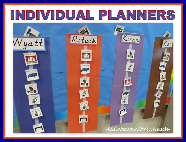 photo of: Individual Visual Planners for Children with Special Needs