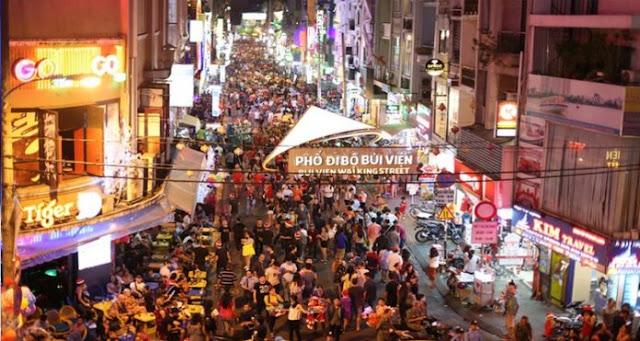 Bui Vien western Street