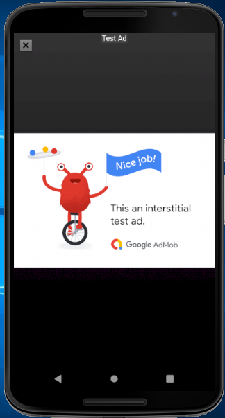 Admob Banner and Interstitial Ads in Android Apps using Android