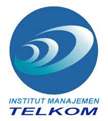 logo insitut manajemen telkom bandung