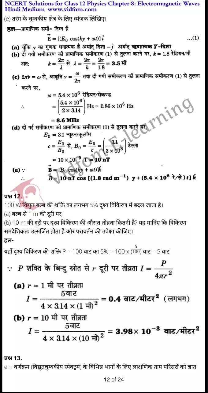 class 12 physics chapter 8 light hindi medium 12