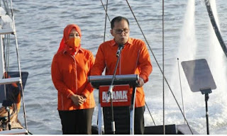 "Tabe ""Ucapan Pasangan Dany  Fatma Di Hadapan Para Pendukung Sebelum Menyampaikan Orasi Saat Deklarasi"