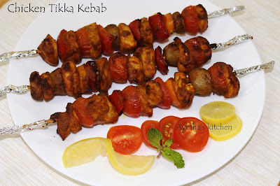 simple easy festive chicken recipe in skewers chicken tikka masala kebab grill recipes