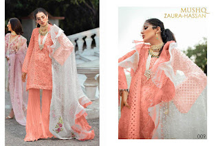 Zaura Hassan Mushq Pakistani Suits catalog