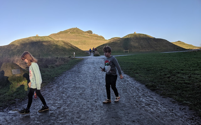 A Guide to Visiting Northumberlandia - muddy paths