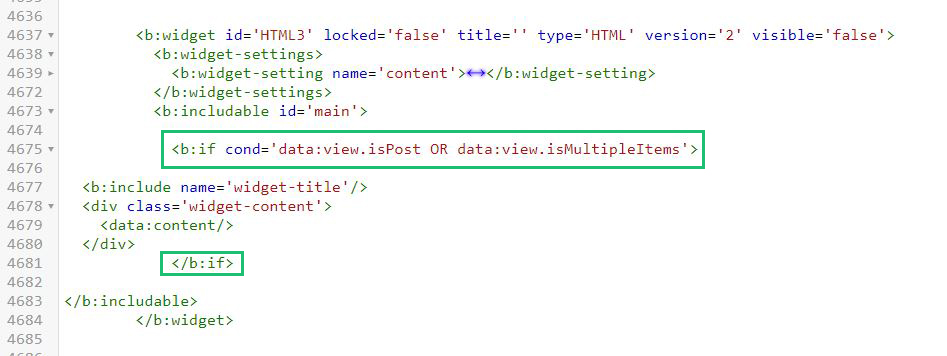 Wrap with conditional tag custom widget