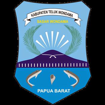 Logo Kabupaten Teluk Wondama PNG