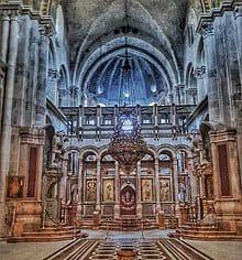 كنيسة القيامة الكنيسة المقدسة