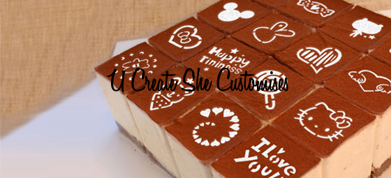 U Create She Customises Special Edition Cartoon Cake