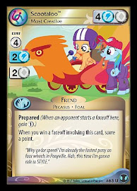 My Little Pony Scootaloo, Most Creative Defenders of Equestria CCG Card