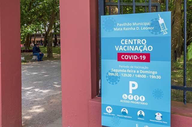 Vaccination Center, (Centro de Vacinação) Portugal
