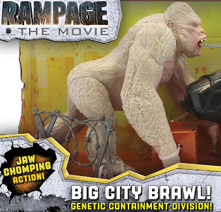 Toy Fair 2018 Lanard Rampage Movie Toys