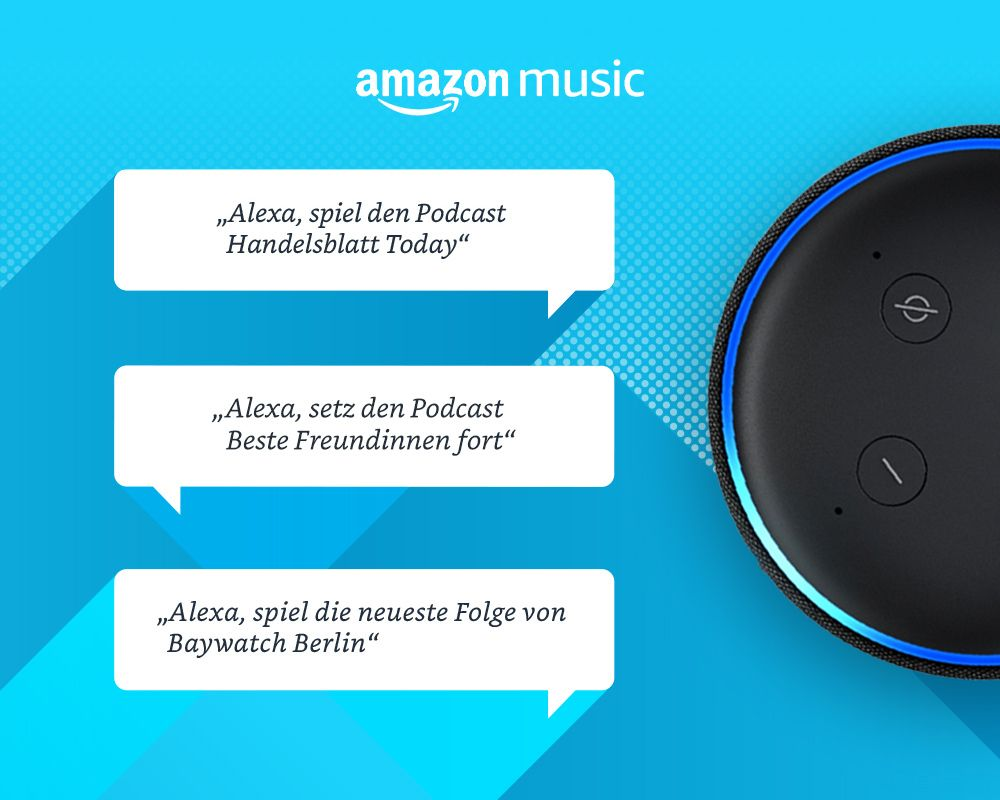 Amazon Music startet Podcasts für alle Kunden in Deutschland, USA, UK und Japan | Mein Webtipp