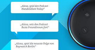Amazon Music startet Podcasts für alle Kunden in Deutschland, USA, UK und Japan   Mein Webtipp