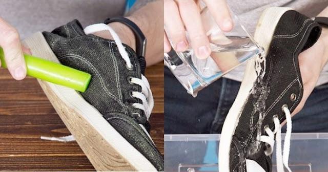 δοκιμασμένα κόλπα για να κάνετε τα ρούχα και τα παπούτσια σας σαν καινούργια