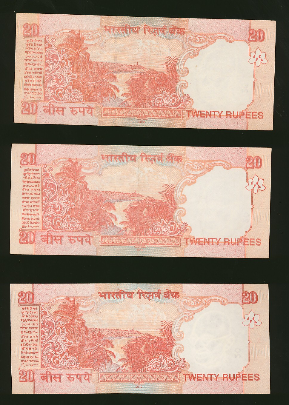 Jk Collection World 20 Rupee Notes Signed By D Subbarao
