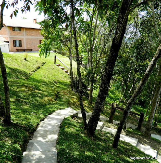 Sede da reserva ambiental e centro esportes de natureza Ninho do Corvo, Paraná