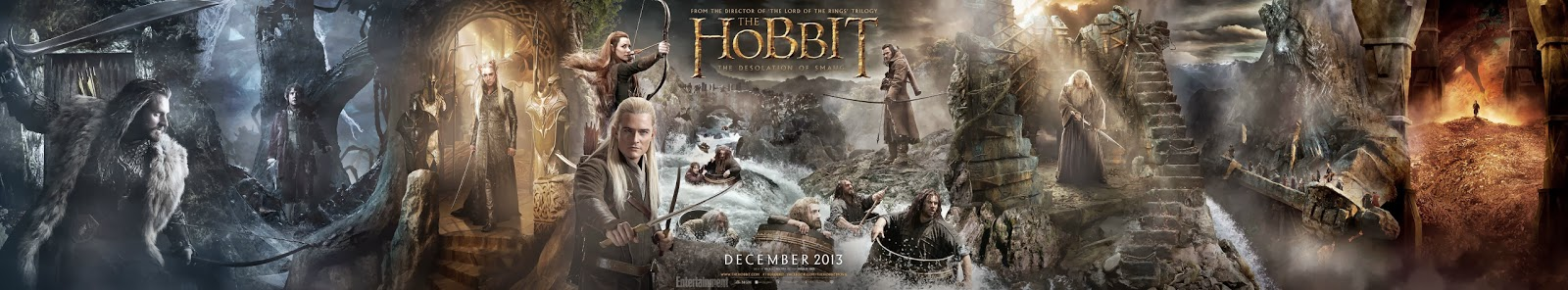 The Hobbit: The Desolation of Smaug Tapestry Poster