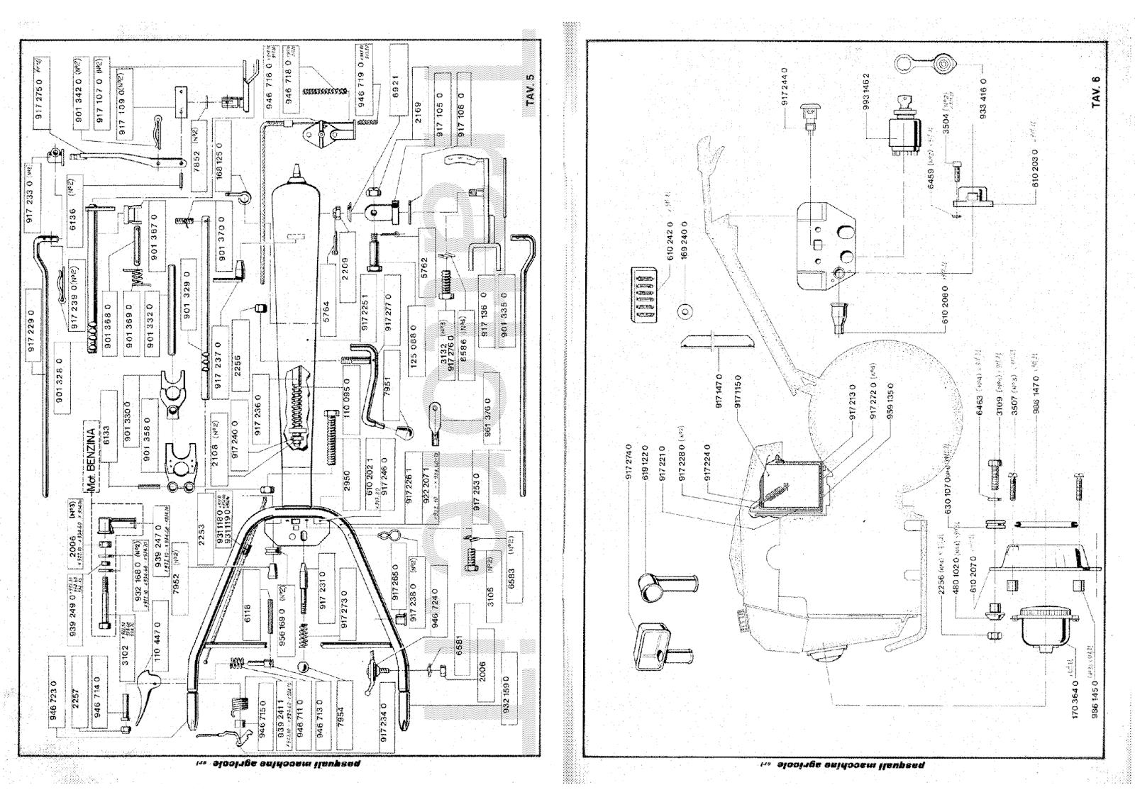 InfoTrattore.it: Motocoltivatore Pasquali 917.23 Manuale