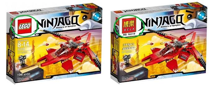Phân biệt Lego chính hãng và hàng nhái