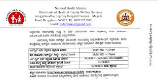 3006 Community Health Officer Vacancy in NHM Karnataka