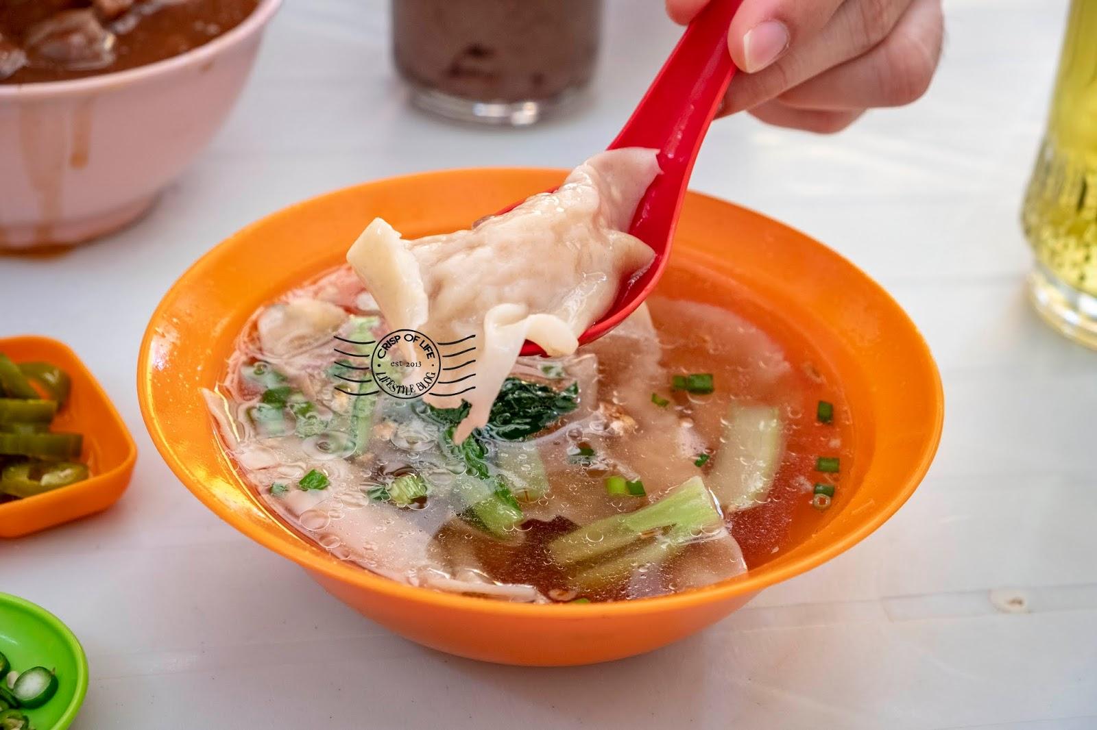 Wantan Mee with Homemade Noodle 伟光茶室, Jalan Kuala Kangsar Georgetown Penang