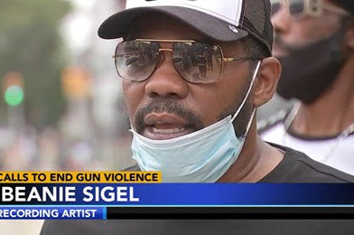 Beanie Sigel Calls For End To Gun Violence In Philly