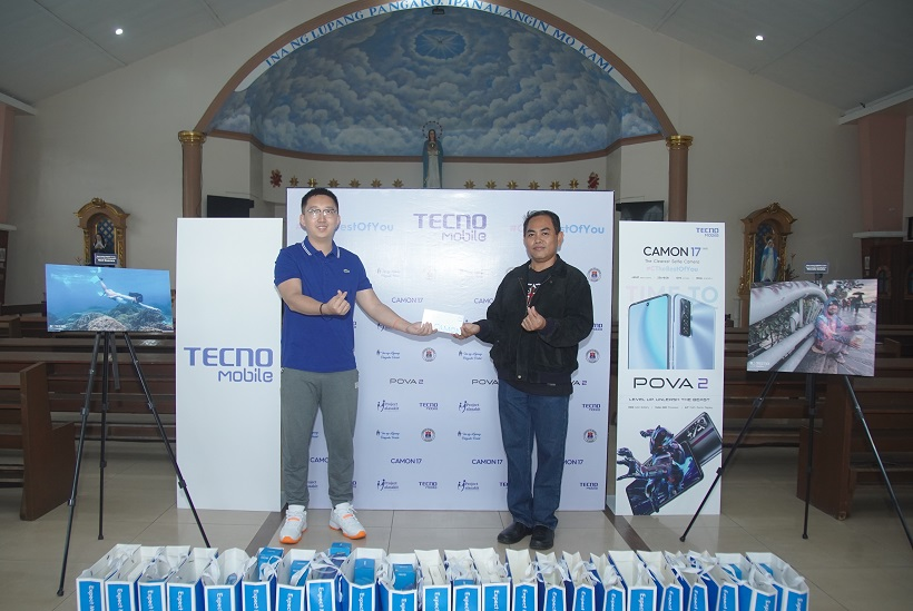 TECNO Mobile Donates Cash and Smartphones to Local Community Heroes