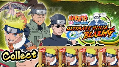 NARUTO: Blazing - Story Mode Farmable 3*, 4* and 5* Ninjas
