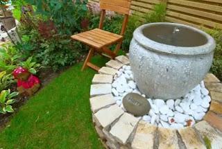terracotta urn water feature