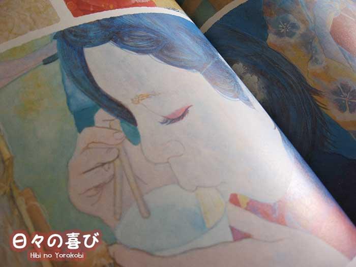 Peinture nihon-ga kokekkoko priscilla moore