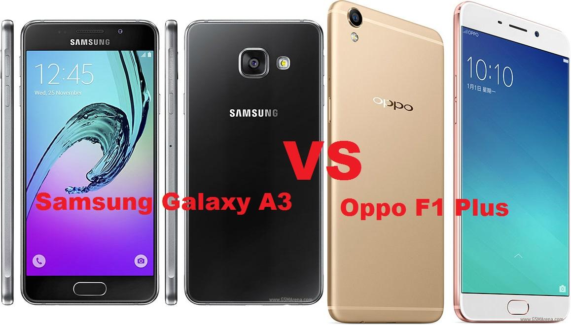 FULL COMPARISON Samsung Galaxy A3 2016 VS Oppo F1 Plus